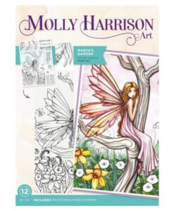 Molly Harrison Clearstamp - Marta's Garden