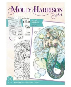 Molly Harrison Clearstamp - Sea of Bubbles