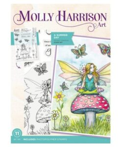 Molly Harrison Clearstamp - A Summer Day