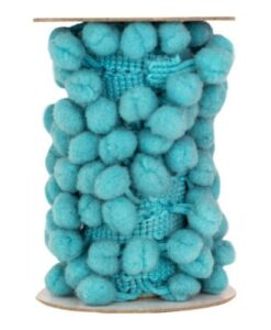 Crafty Fun - Pom Pom Lint Blauw