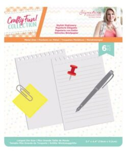 Crafty Fun Metal Die - Stylish Stationery