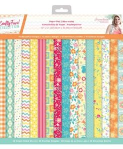Crafty Fun - 12″x12″(30×30 cm) Paper Pad