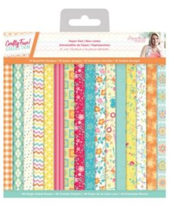 Crafty Fun - 6″x6″(15×15 cm) Paper Pad