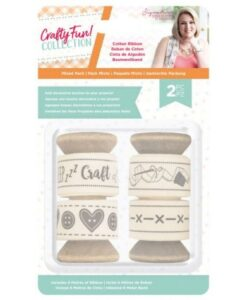Crafty Fun - Katoen Lint (2 PK) Sara Signature Collection