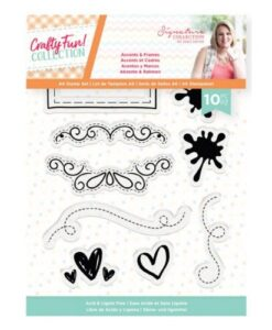 Crafty Fun Clearstamp - Accents & Frames