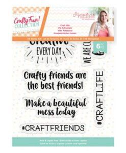 Crafty Fun Clearstamp - Craft Life