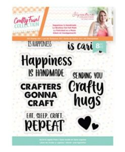 Crafty Fun Clearstamp - Happeniss is Handsmade