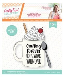 Crafty Fun- Clearstamp & Die Set - Craft in a Mug