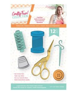 Crafty Fun- Clearstamp & Die Set - Craft Box