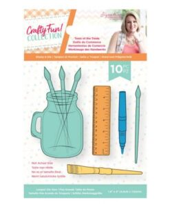 Crafty Fun- Clearstamp & Die Set - Tools of the Trade