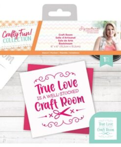 Crafty Fun - Stencil Craft Room