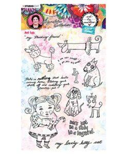 Studio Light Clear Stamp - Art By Marlene 5.0 nr.50