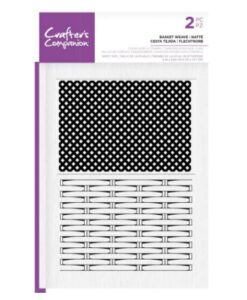CC Clear Stamp - Basket Weave