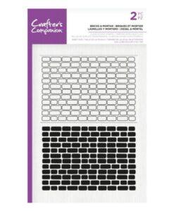 CC Clear Stamp - Bricks & Mortar