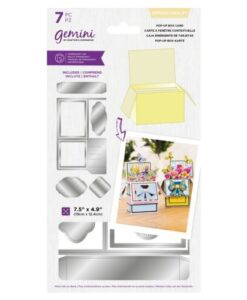 Gemini Die Dimensionals - Pop-Up Box Card