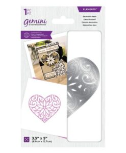 Gemini Elements Die - Decorative Heart