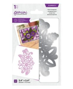 Gemini Elements Die - Floral Arrangement