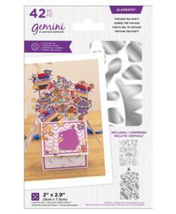 Gemini Stamp & Die - Vintsage Tea Party