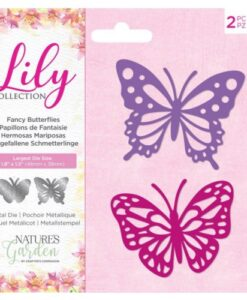 Lily Collection - Fancy Butterflies Metal Die