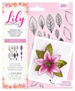 Lily Collection - Beautiful Lilies Stamp & Die