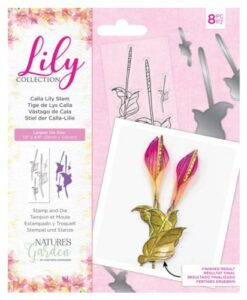 Lily Collection - Calla Lily Stem Stamp & Die