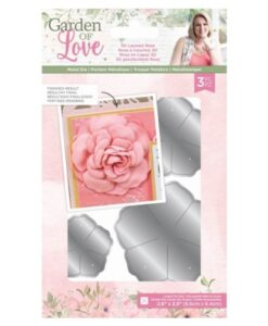 Garden of Love - Metal Die 3D Layered Rose Sara Signature Collection