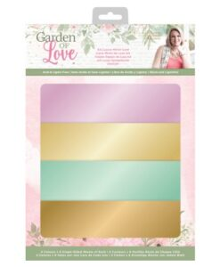 Garden of Love - A4 Luxury Mirror Card Sara Signature Collection