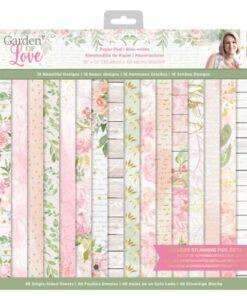Garden of Love - 30 x 30 cm Paper Pad - Sara Signature Collection