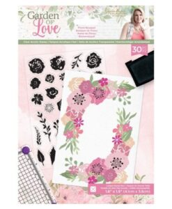Garden of Love - Clearstamp Floral Bouquet Sara Signature Collection