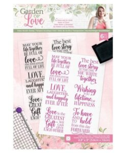 Garden of Love - Clearstamp To Have and To Hold Sara Signature Collection