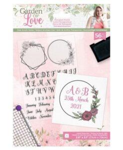 Leg de essentie van liefde en bloemenromantiek vast met de Sara Signature Garden of Love-collectie!