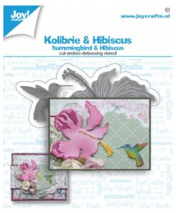 Joy! Crafts Snijmal - Kolibrie & Hibiscus