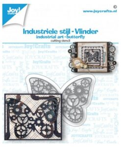 Joy! Crafts Snijmal - Industrieel Vlinder
