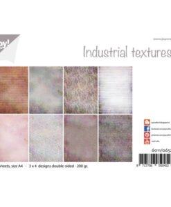 Papierset Design - Industrieel Texturen