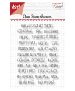 Noor Design - Clearstamp Banners