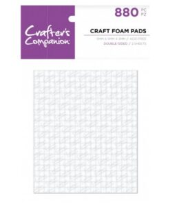 Crafter's Companion - Foam Pads (5x5x3 mm)