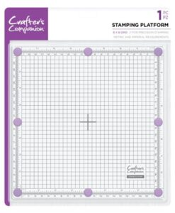 Crafter's Companion - Stamping Platform 20 x 20 cm