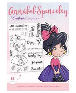 Annabel Spenceley Clearstamp - Alle Dressed Up