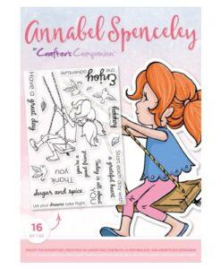 Annabel Spenceley Clearstamp - Enjoy the Adventure