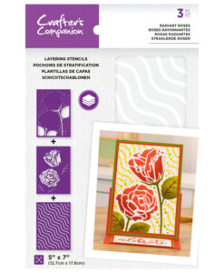 Layering Floral Stencil - Radiant Roses