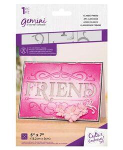 Gemini Cut & Emboss Folder – Classic Friend
