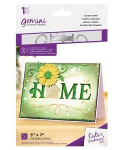 Gemini Cut & Emboss Folder – Classic Home