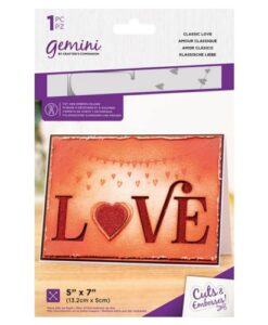 Gemini Cut & Emboss Folder – Classic Love