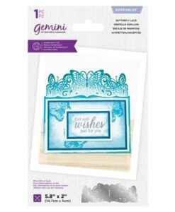 Gemini Lace Edgeables Die - Butterfly Lace