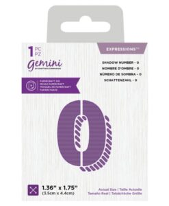 Gemini Expressions Die - Schaduw Nummer 0