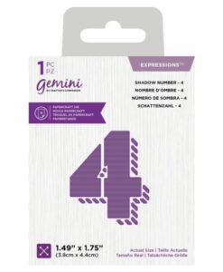 Gemini Expressions Die - Schaduw Nummer 4