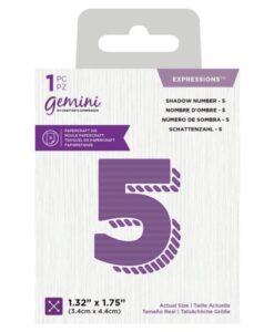 Gemini Expressions Die - Schaduw Nummer 5