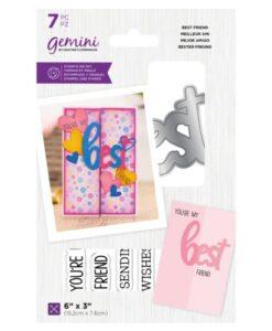 Gemini Stamp & Die - Best Friend