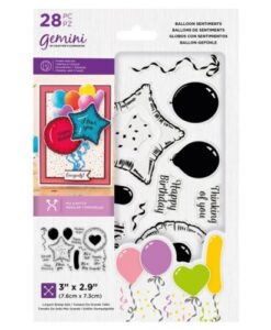 Gemini Stamp & Die - Balloon Sentiments