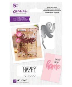 Gemini Stamp & Die - Happy New Home